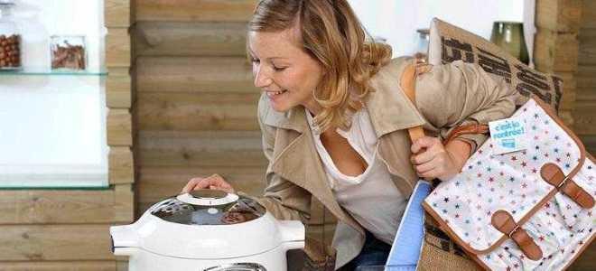 Как отмыть крышку мультиварки, если она не снимается?