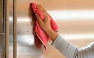 Тряпка для мытья посуды без моющих средств