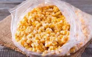 Как заморозить кукурузу на зиму в домашних условиях: в початках или зёрнами. Рецепты