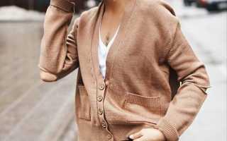 Трендовые кофты на пуговицах для женщин: более 50 фото!