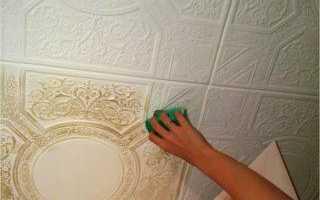Как и чем мыть потолочную плитку из пенопласта, чтобы не повредить покрытие