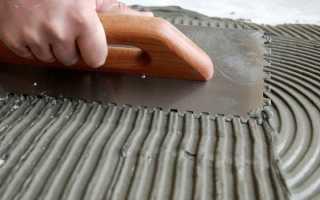 Клей для плитки – виды, советы по выбору, правила нанесения